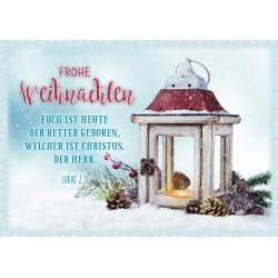 Faltkarte Weihnachten - Retter