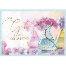 Faltkarte zum Geburtstag - Gottes Segen