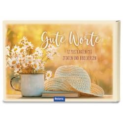 Postkartenbox Gute Worte