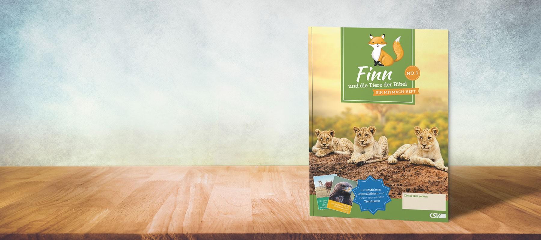 Finn und die Tiere der Bibel